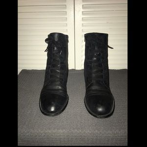 Easy Spirit Black Janis Boots